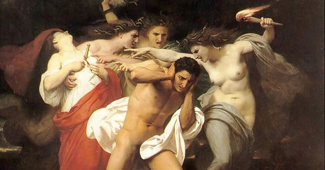 Bouguereau__The_Remorse_of_Orestes_(1862)