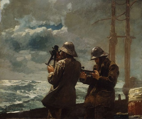 WinslowHomer-Eight_Bells_1886