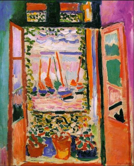 Matisse_Open Window, Collioure
